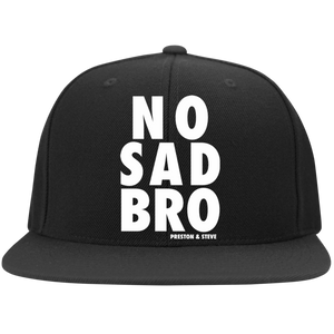 No Sad Bro Flexfit Hat