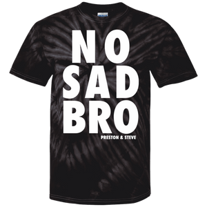 No Sad Bro Tie Dye Men's T-Shirt