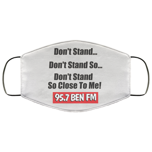 BEN FM Dont Stand Face Mask