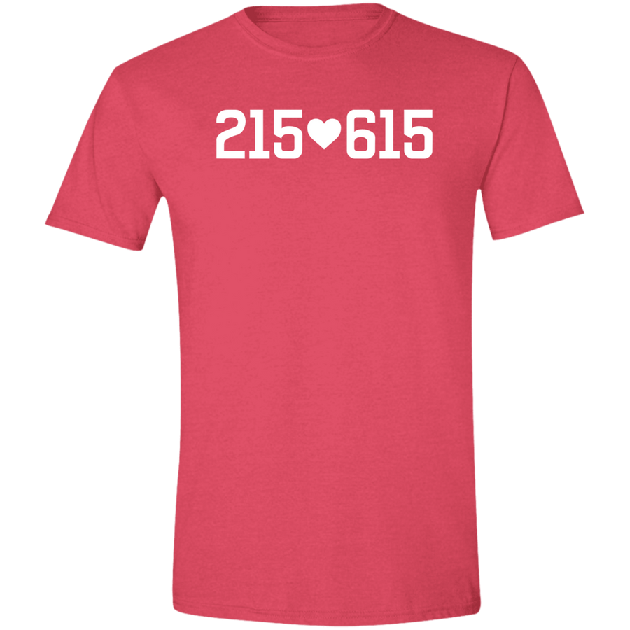 215 Loves 615 Men's T-shirt