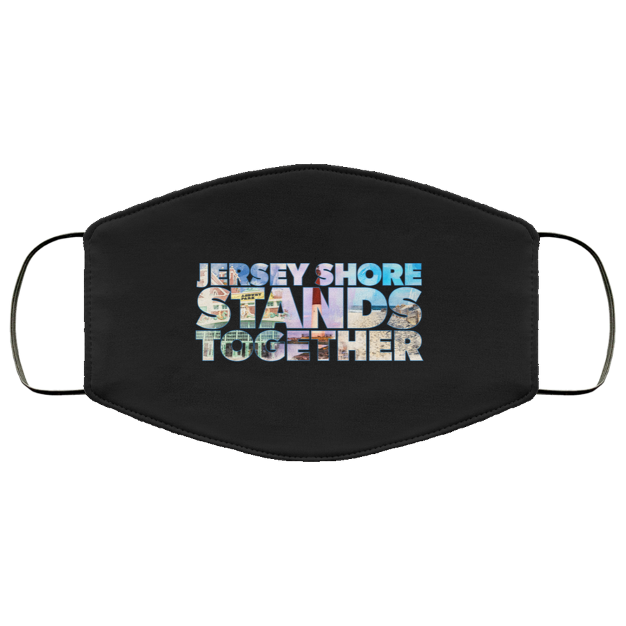 Jersey Shore Stands Together Face Mask