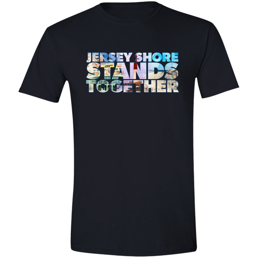 Jersey Shore Stands Together Men's T-shirt