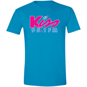 Kiss 95.1 Logo Men's T-Shirt