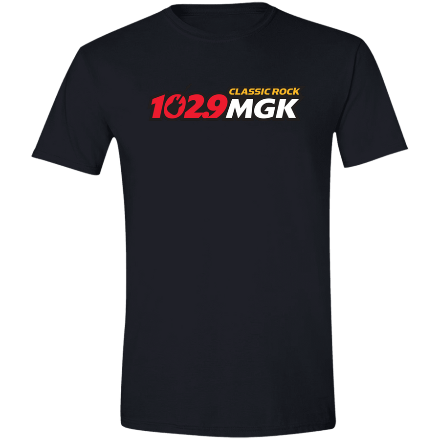 102.9 WMGK Logo Men's T-shirt
