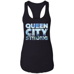 Queen City Strong Women's Racerback Tank