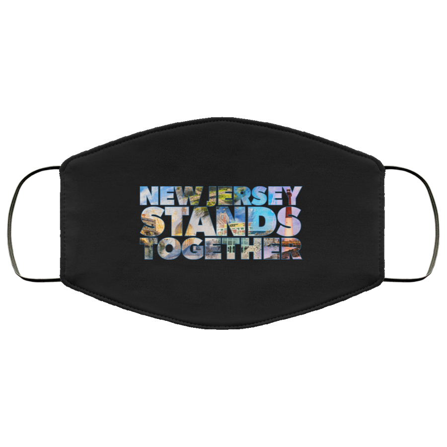 New Jersey Stands Together Face Mask