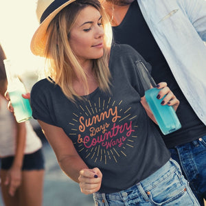 Country Flowy T-Shirt