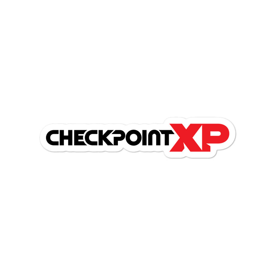 CheckpointXP Sticker