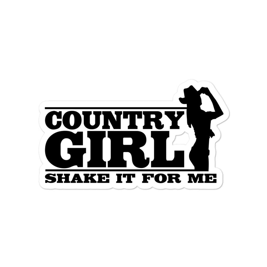 Country Girl Sticker