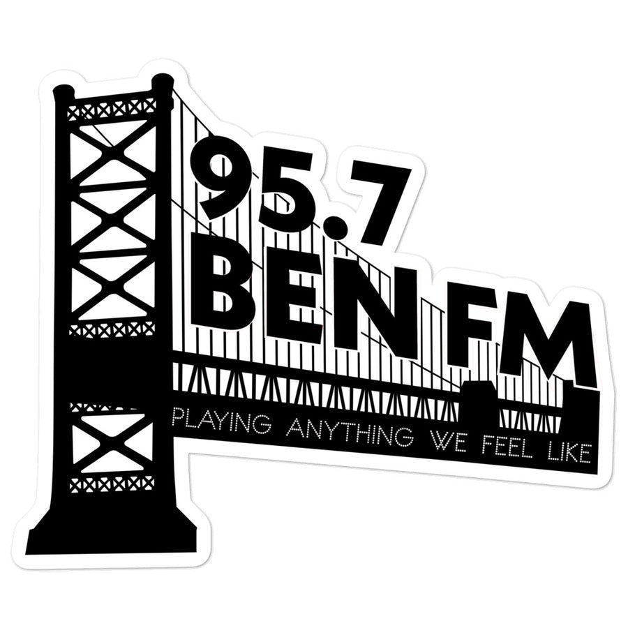 Ben Bridge sticker