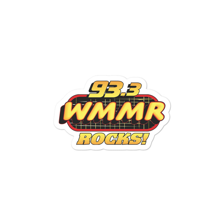 WMMR Rocks Sticker