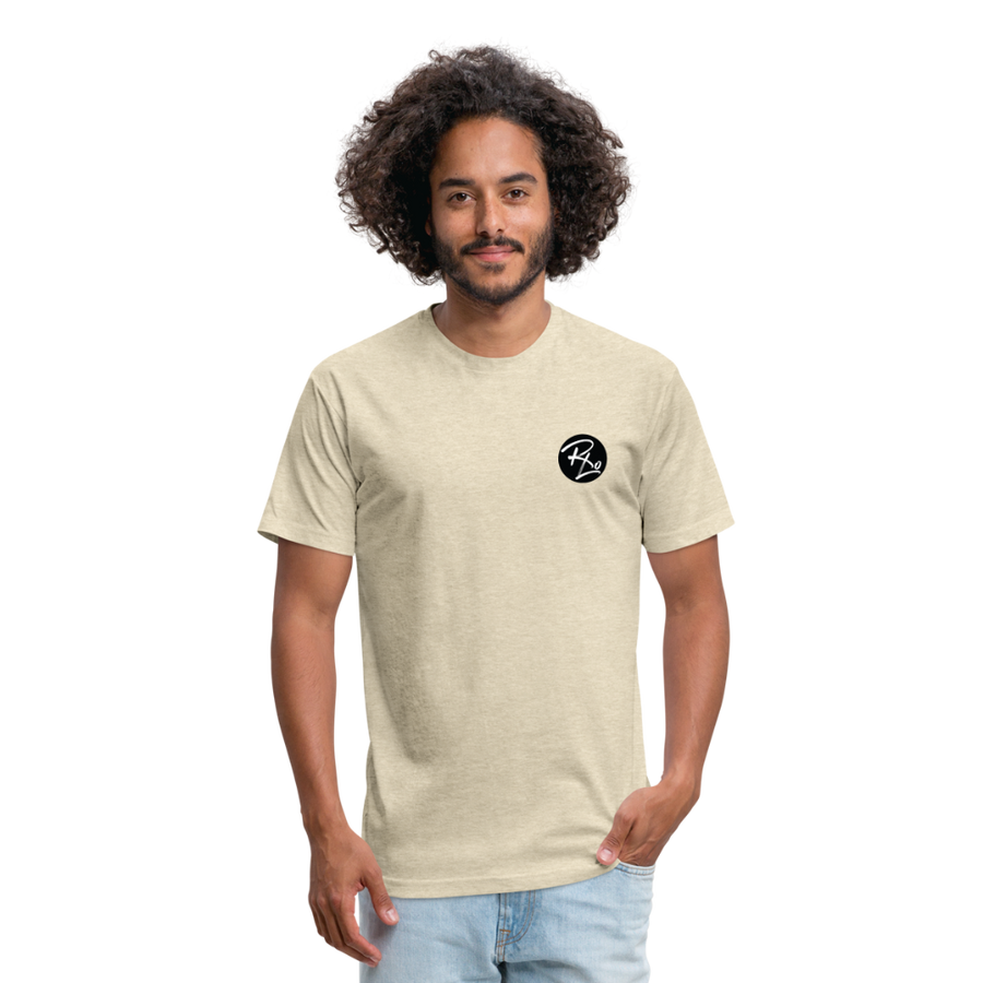ResLo Fitted T-shirt - heather cream