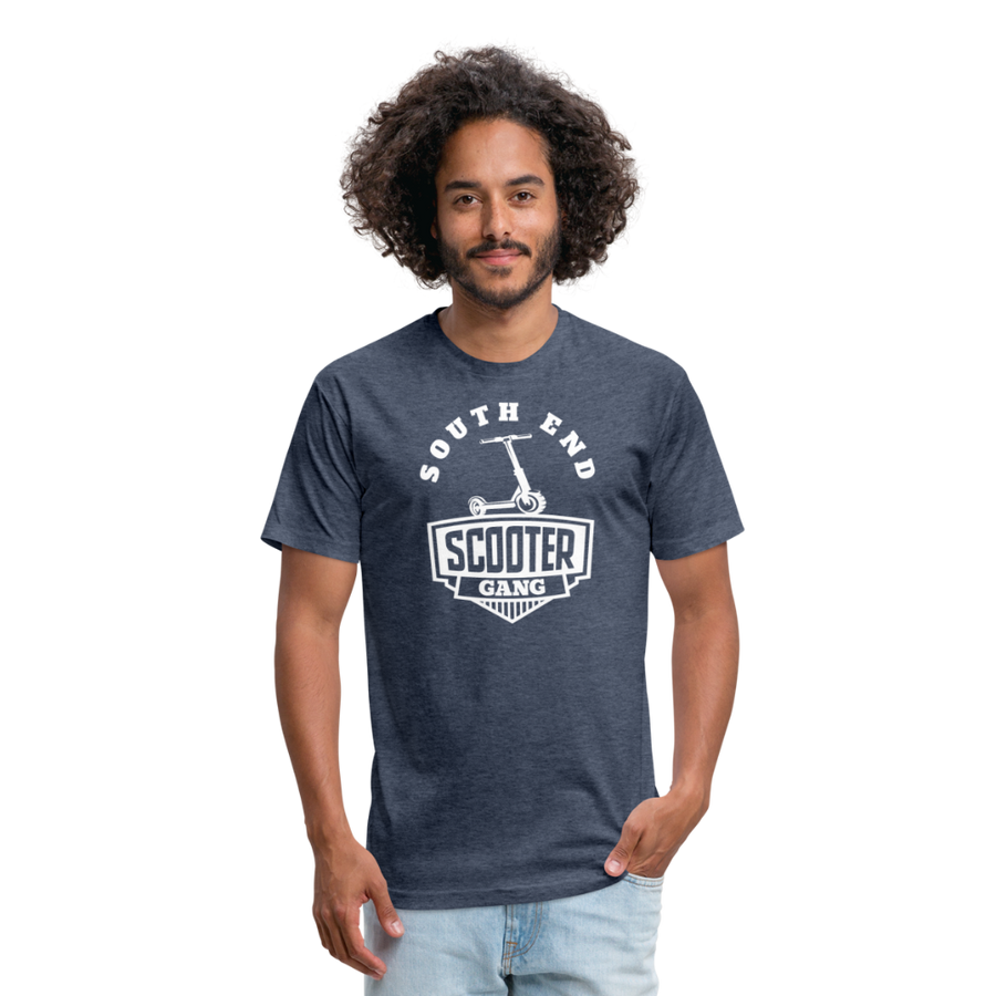 Southend Scooter T-shirt - heather navy