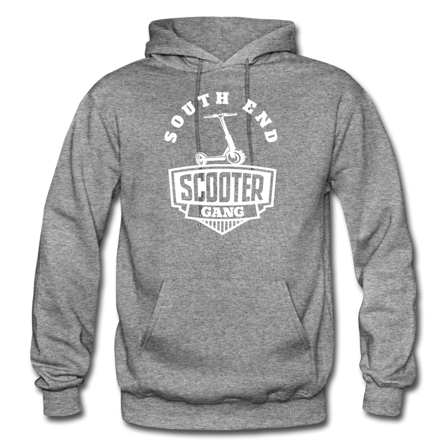 Southend Scooter Hoodie - graphite heather