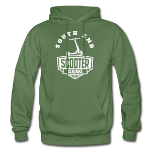 Southend Scooter Hoodie - military green