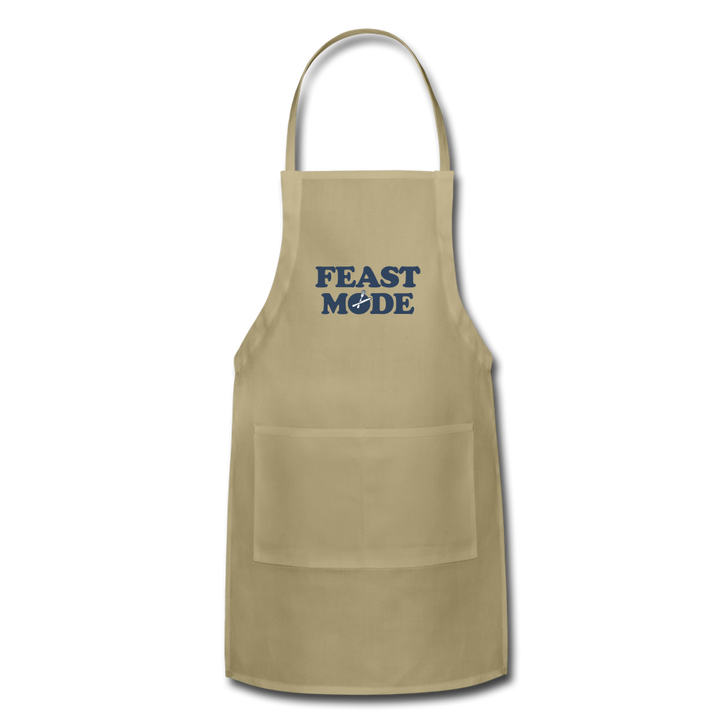 Feast Mode Apron - khaki