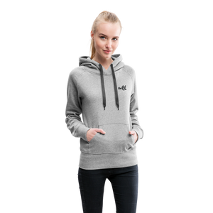 The QC Women's Premium Hoodie - heather gray