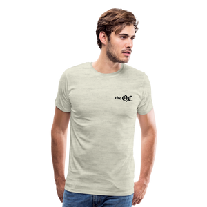 The QC Men's Premium T-Shirt - heather oatmeal