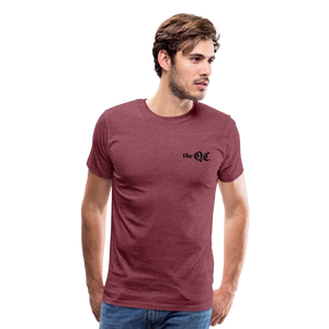 The QC Men's Premium T-Shirt - heather burgundy