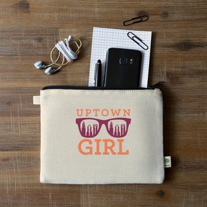 Uptown Girl Pouch - natural