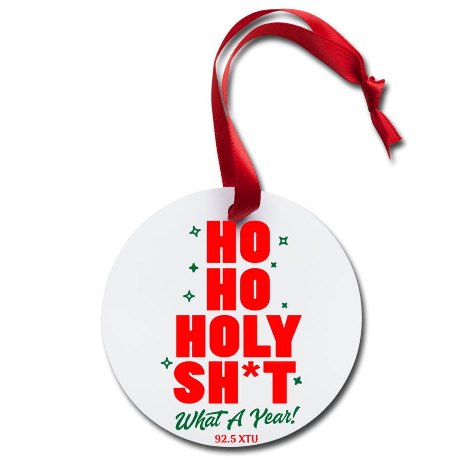Ho Ho II XTU Ornament - white