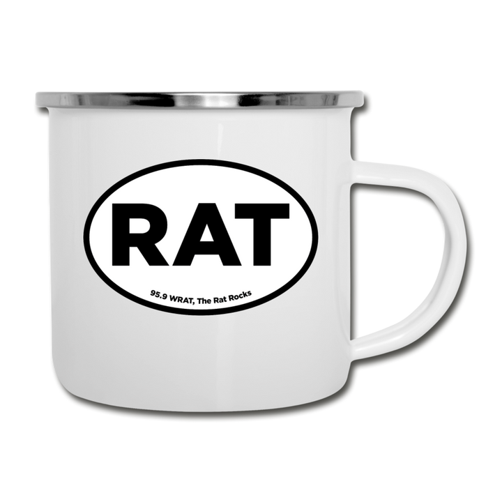RAT Camper Mug - white