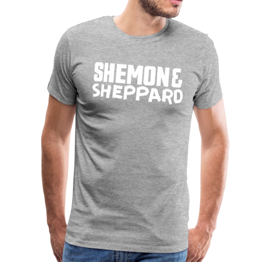 Shemon & Sheppard Premium T-Shirt - heather gray