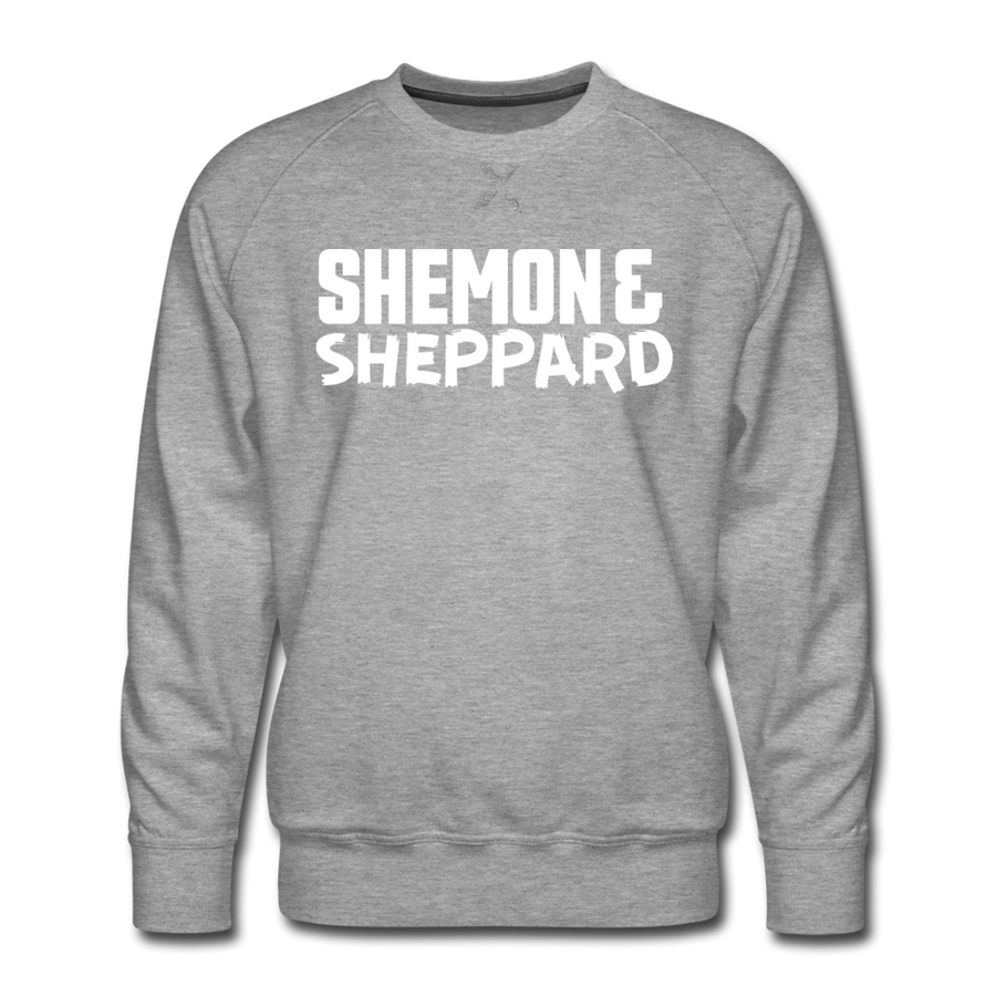 Shemon & Sheppard Premium Sweatshirt - heather gray