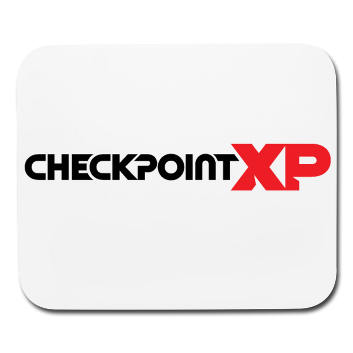 Checkpoint XP Mousepad - white