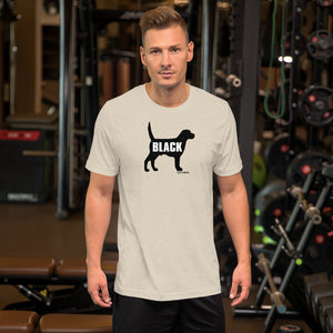 WMGK Black Dog Unisex T-shirt