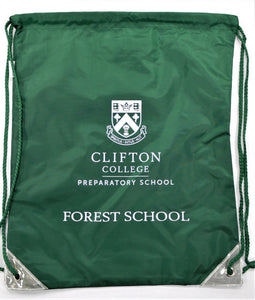 Dark Green Bag for Forest School