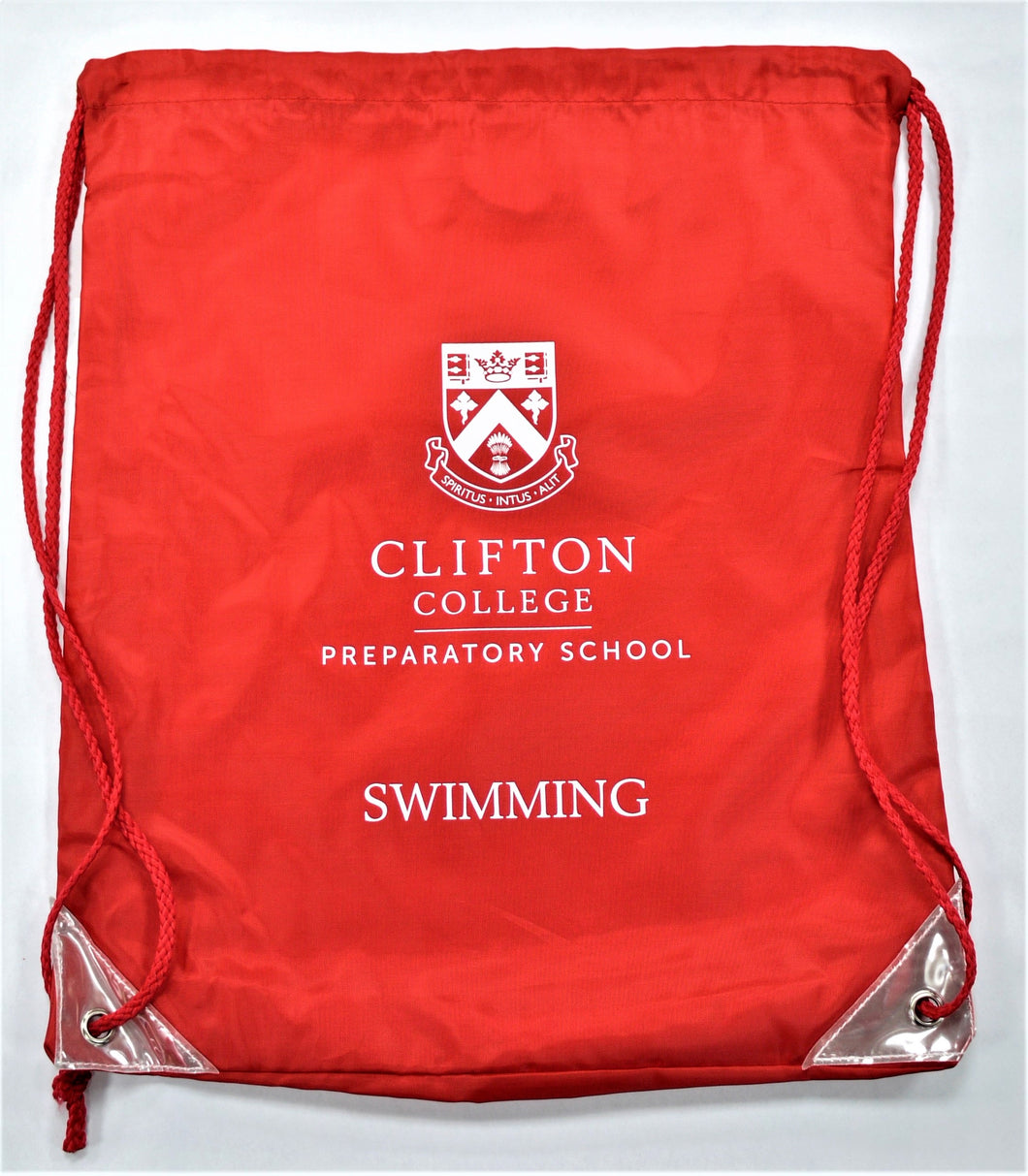 Red Clifton College Swimming Bag
