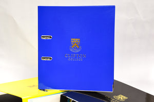A4 Crested Leaver Arch Folder