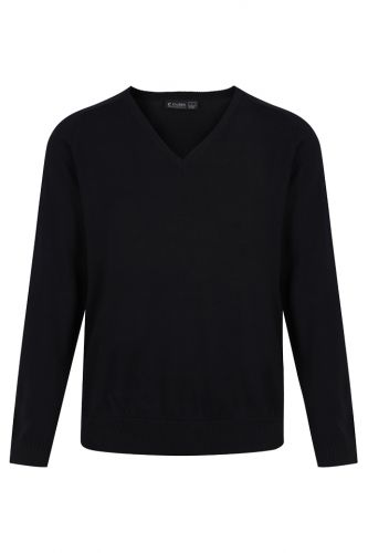 Upper School V-Neck Long Sleeve Jumper
