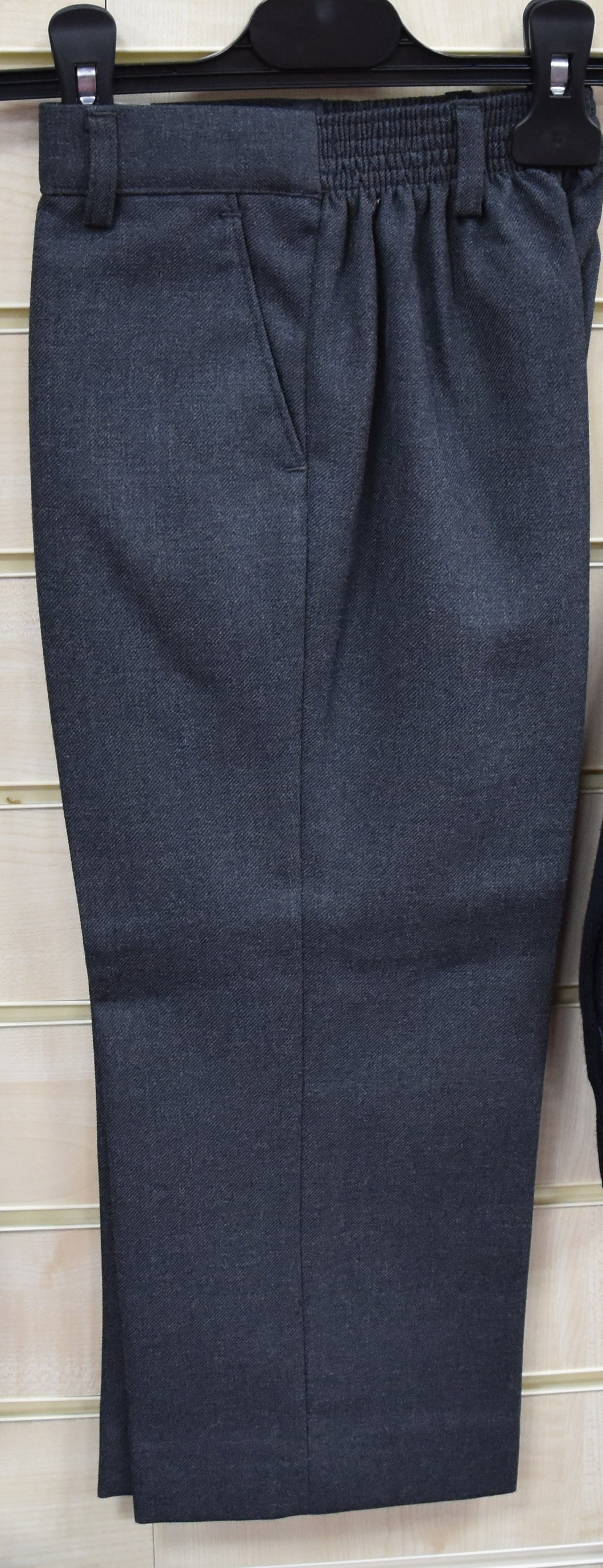 Sturdy Fit Grey Trousers