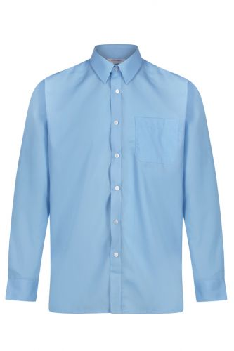 Preparatory School Boys' Shirt Blue Twin Pack