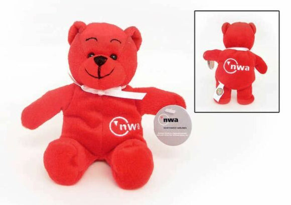 Daron Northwest Airlines Plush Teddy Bear
