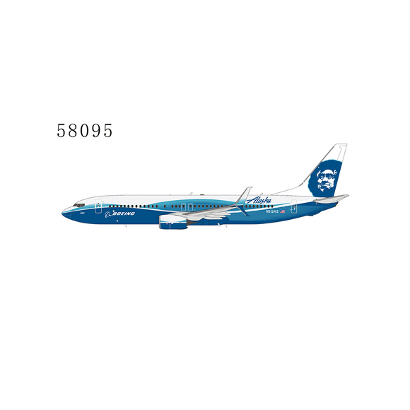 Pre-Order: NG58095 - NG Models 1/400 Alaska Air Boeing 737-800 (Spirit of Seattle) - N512AS