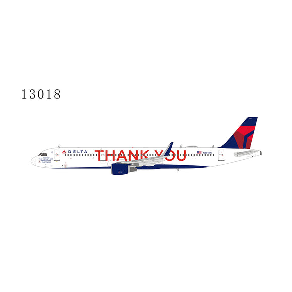 NG13018 - NG Models 1/400 Delta Air Lines Airbus A321-200W (THANK YOU) - N391DN