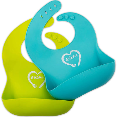 Complete Baby Feeding Set | Lime Green and Turquoise