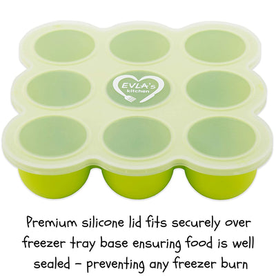 Freezer Tray & Reusable Food Pouches