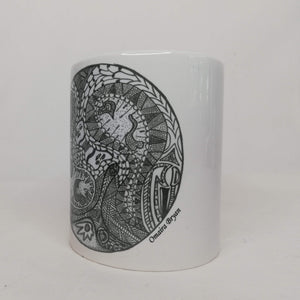 Two Faces - Coffee Mug