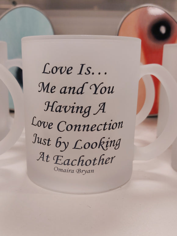 Love Is... Love Connection.. - Tea Mug