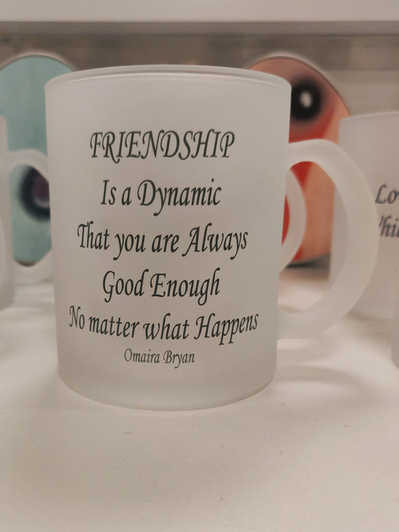 Friendship Is A Dynamic - Tea Mug