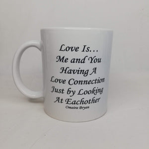 Love Is... Love Connection - Coffee Mug