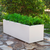Rectangular colored pot JARA 100 x 40
