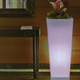 Tall planter with light MELISA 50