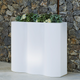 Rectangular pot with light  PALMERA