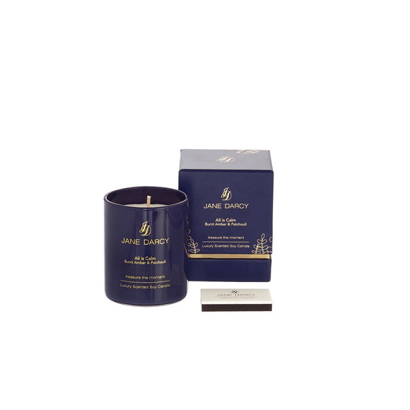 JANE DARCY- Burnt Amber & Patchouli Candle