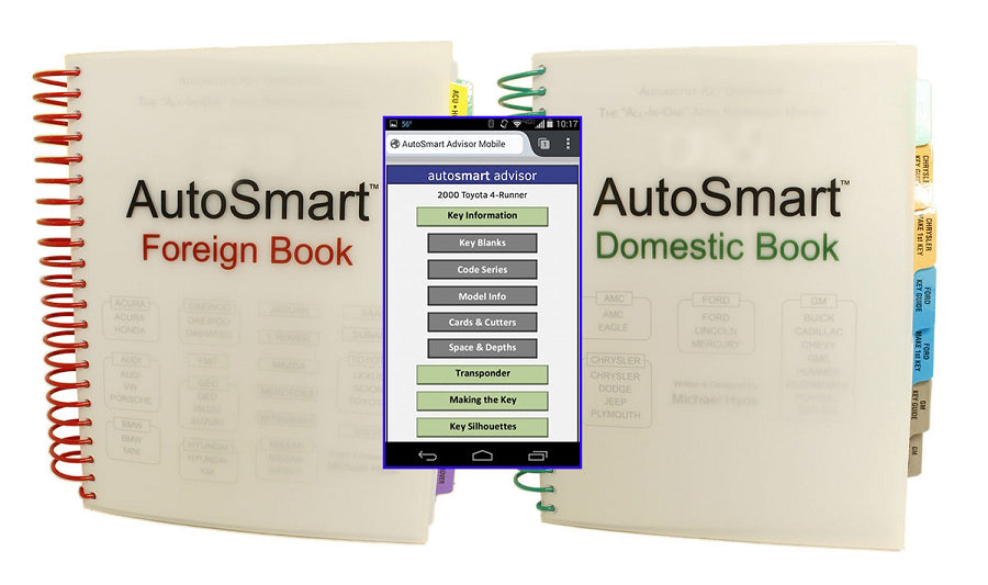 Autosmart Spiral Books & 1 Smartphone version for AutoSmart Advisor - Combo